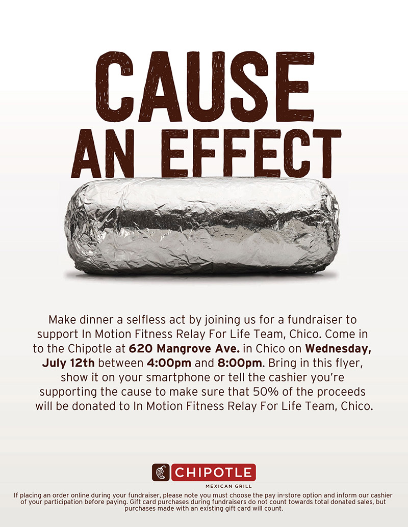 Cause An Effect - Chipotle