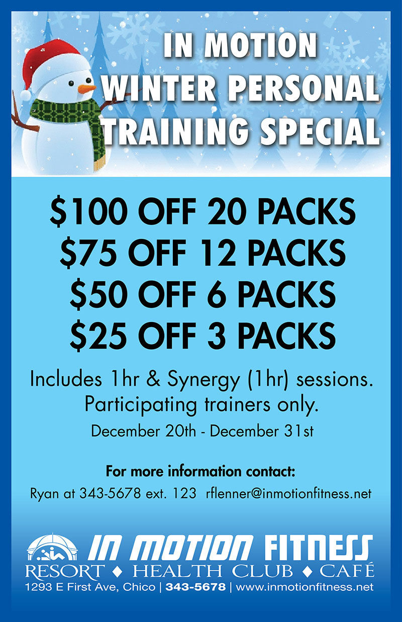 Personal Training Winter Special