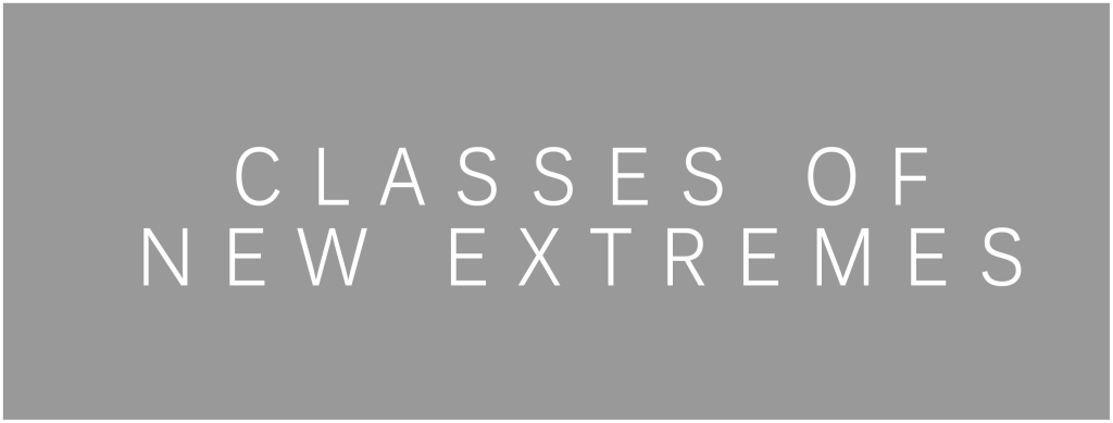 Classes Of New Extremes - Title